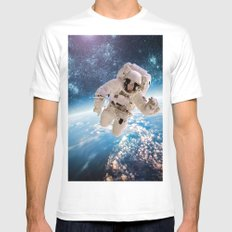 Going higher Mens Fitted Tee White MEDIUM