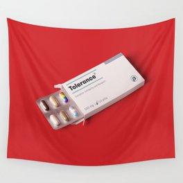 Tolerance pills Wall Tapestry