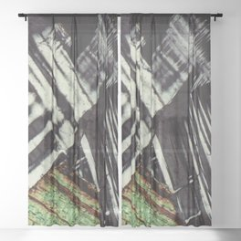 Feldspar and Biotite Sheer Curtain