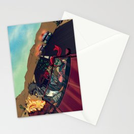 Ginny & Clutch (Greetings From Route 66) Stationery Cards