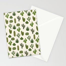 Cacti parade Stationery Cards