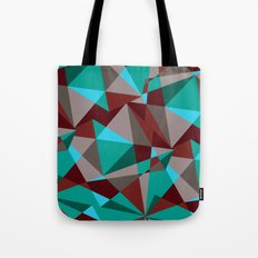 Triangle cubes Tote Bag