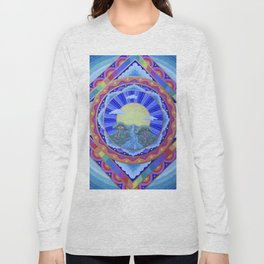 Beautiful World Mandala Long Sleeve T-shirt