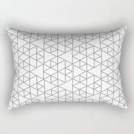 Karthuizer Grey & White Pattern Rectangular Pillow