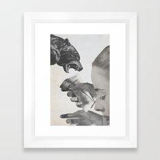 dark house Framed Art Print