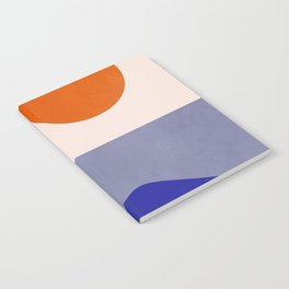 abstract minimal 50 Notebook