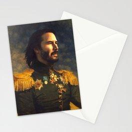 Keanu Reeves Poster, Classical Painting, Regal art, General, John Wick, Matrix, Actor Print Stationery Cards