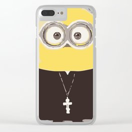 Father Minion Clear iPhone Case