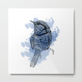 One Little Bird Metal Print