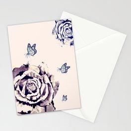 Fleurs et Papillons Stationery Cards