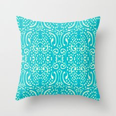 Cut Paper Throw Pillow
