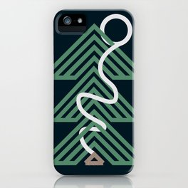 Forest Cabin iPhone Case