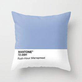 MANTONE® Rush-Hour Manspread Throw Pillow