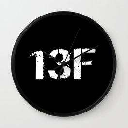 13F Fire Support Specialist Wall Clock