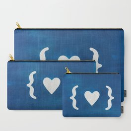 Paper Heart Carry-All Pouch