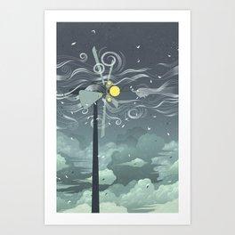Wind Power! Art Print
