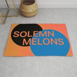 Solemn Melons Rug