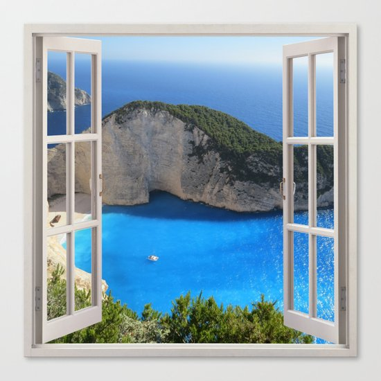 Ocean View Canvas Print