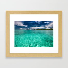 SeaSky Framed Art Print