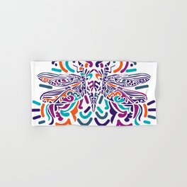 Colorful Fly Hand & Bath Towel
