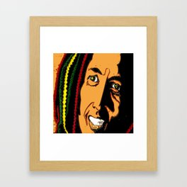 RASTA MAN Framed Art Print