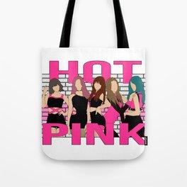 Hot Pink EXID Tote Bag