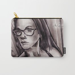 RGD Girl Portrait | Eye Get Bored Carry-All Pouch