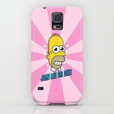 Brave Corporate Logo Slim Case Galaxy S5