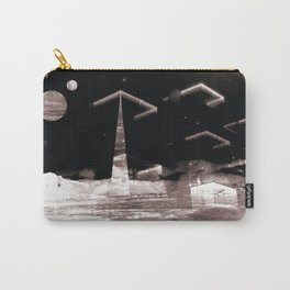 Brave New World (Deconstructed Polyscape 8) Carry-All Pouch