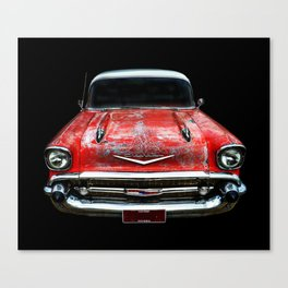 Rockabilly Racer Canvas Print