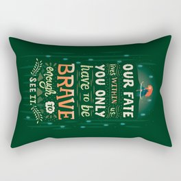 Would you change your fate? Rectangular Pillow