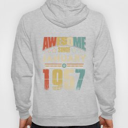 Awesome Since January 1957 T-Shirt Hoody