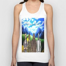 No Place Like Home Wizard Oz Art Unisex Tank Top