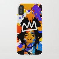 basquiat iPhone & iPod Cases featuring BASQUIAT by SebinLondon