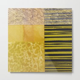 Yellowthings Metal Print