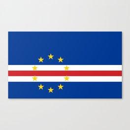 Cape Verde Flag Canvas Print