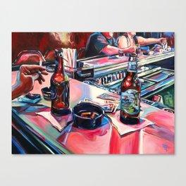 """Err In Ways, Stumble In Judgement"" Canvas Print"