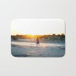 """Beach Play, Tybee Island, Georgia"" by Simple Stylings Bath Mat"