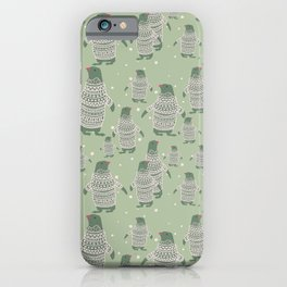Penguin Christmas iPhone Case