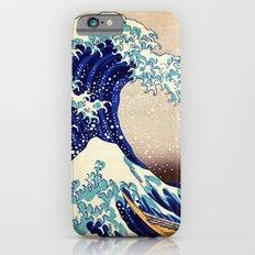 Katsushika Hokusai The Great Wave Off Kanagawa Slim Case iPhone 6