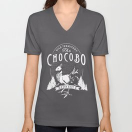 The Chocobo Forest Unisex V-Neck