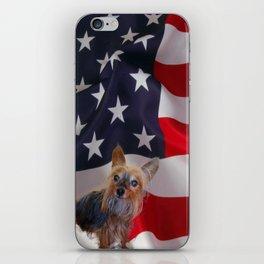 Mountain Yorkies of America iPhone Skin
