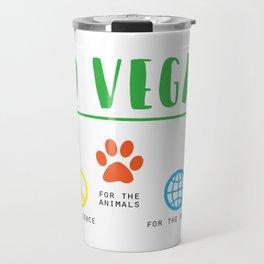 Vegan Love Travel Mug
