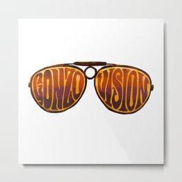 Gonzo Vision Metal Print