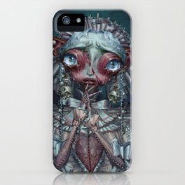 Sympathy for the unborn iPhone Case