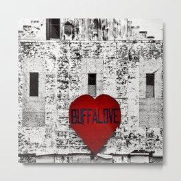 Buffalo Urban movement Metal Print
