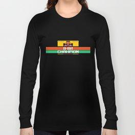 8-Bit Champion Long Sleeve T-shirt