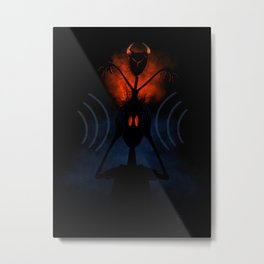 Misophonia Metal Print