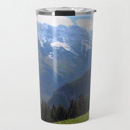 Swiss Alps View Travel Mug