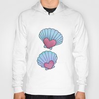 seashell Hoodies featuring Seashell 💗 by Ana Turrubiates